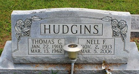HUDGINS, NELL F. - Poquoson (City of) County, Virginia | NELL F. HUDGINS - Virginia Gravestone Photos