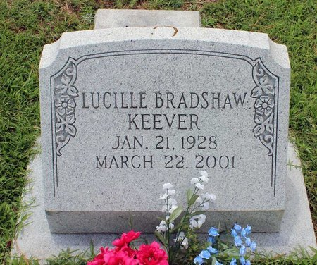 BRADSHAW KEEVER, LUCILLE - Poquoson (City of) County, Virginia | LUCILLE BRADSHAW KEEVER - Virginia Gravestone Photos
