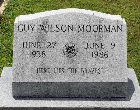MOORMAN, GUY WILSON - Poquoson (City of) County, Virginia | GUY WILSON MOORMAN - Virginia Gravestone Photos