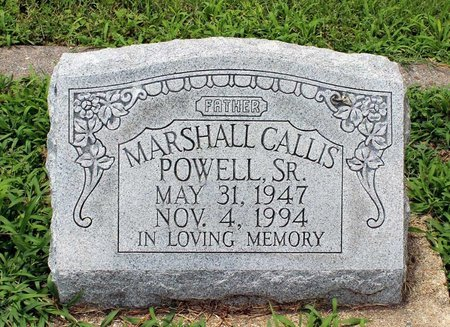 POWELL, MARSHALL CALLIS SR. - Poquoson (City of) County, Virginia | MARSHALL CALLIS SR. POWELL - Virginia Gravestone Photos