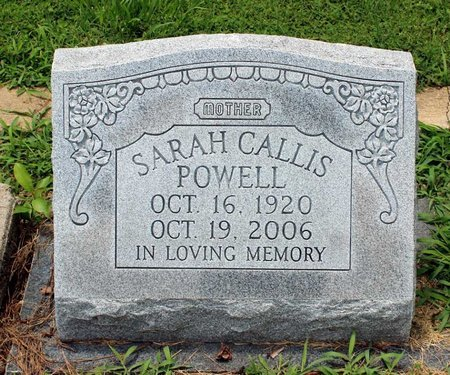 POWELL, SARAH - Poquoson (City of) County, Virginia | SARAH POWELL - Virginia Gravestone Photos