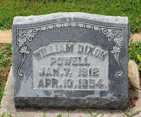 POWELL, WILLIAM DIXON - Poquoson (City of) County, Virginia   WILLIAM DIXON POWELL - Virginia Gravestone Photos
