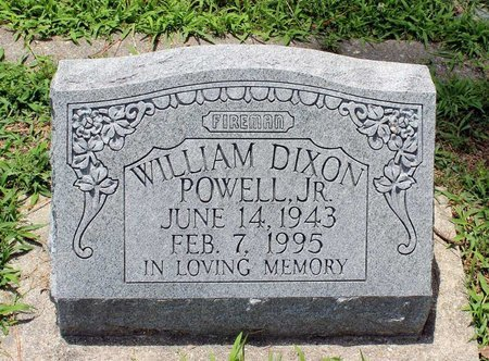 POWELL, WILLIAM DIXON JR. - Poquoson (City of) County, Virginia | WILLIAM DIXON JR. POWELL - Virginia Gravestone Photos