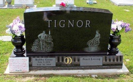 TIGNOR, BOBBY GENE - Poquoson (City of) County, Virginia   BOBBY GENE TIGNOR - Virginia Gravestone Photos