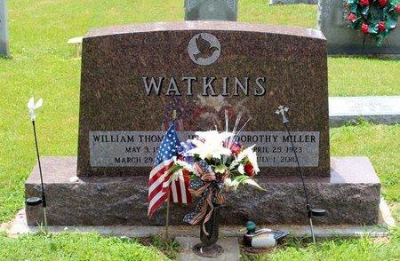 WATKINS, WILLIAM THOMAS JR. - Poquoson (City of) County, Virginia | WILLIAM THOMAS JR. WATKINS - Virginia Gravestone Photos