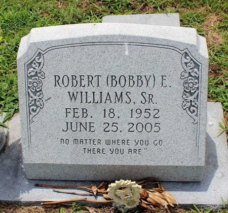 WILLIAMS, ROBERT E. SR. - Poquoson (City of) County, Virginia | ROBERT E. SR. WILLIAMS - Virginia Gravestone Photos