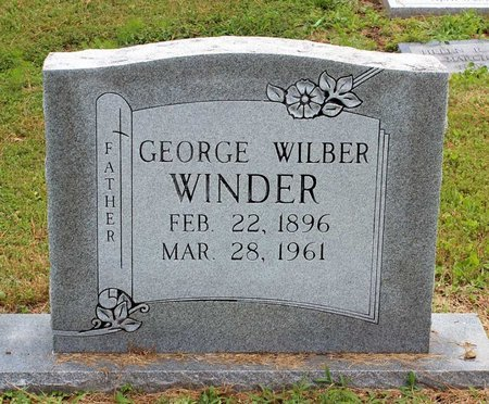 WINDER, GEORGE WILBER - Poquoson (City of) County, Virginia | GEORGE WILBER WINDER - Virginia Gravestone Photos