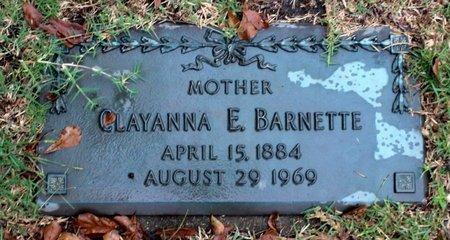 BARNETTE, CLAYANNA E. - Portsmouth (City of) County, Virginia   CLAYANNA E. BARNETTE - Virginia Gravestone Photos