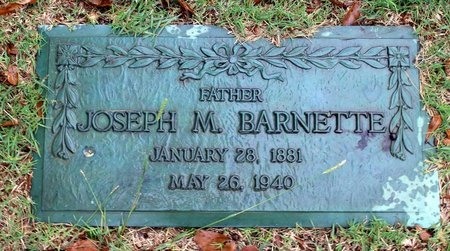 BARNETTE, JOSEPH M. - Portsmouth (City of) County, Virginia | JOSEPH M. BARNETTE - Virginia Gravestone Photos