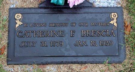 BRESCIA, CATHERINE F. - Portsmouth (City of) County, Virginia   CATHERINE F. BRESCIA - Virginia Gravestone Photos