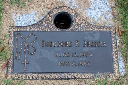 BRESCIA, THEODORE P. - Portsmouth (City of) County, Virginia | THEODORE P. BRESCIA - Virginia Gravestone Photos