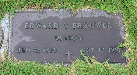 BROUWER, EDWARD C. - Portsmouth (City of) County, Virginia | EDWARD C. BROUWER - Virginia Gravestone Photos