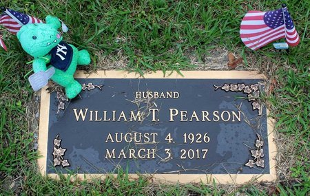 PEARSON, WILLIAM T. - Portsmouth (City of) County, Virginia | WILLIAM T. PEARSON - Virginia Gravestone Photos