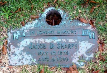 SHARPE, JACOB D. - Portsmouth (City of) County, Virginia | JACOB D. SHARPE - Virginia Gravestone Photos