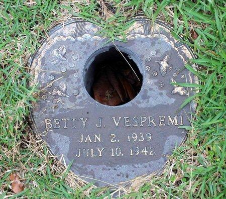 VESPREMI, BETTY J. - Portsmouth (City of) County, Virginia | BETTY J. VESPREMI - Virginia Gravestone Photos
