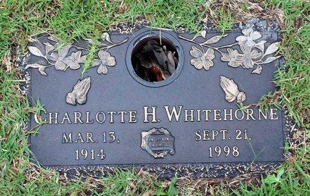 WHITEHORNE, CHARLOTTE H. - Portsmouth (City of) County, Virginia | CHARLOTTE H. WHITEHORNE - Virginia Gravestone Photos