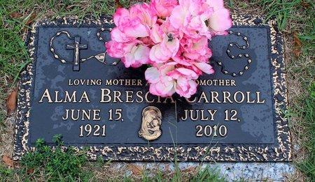 BRESCIA CARROLL, ALMA - Portsmouth (City of) County, Virginia | ALMA BRESCIA CARROLL - Virginia Gravestone Photos
