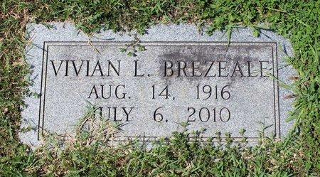 BREZEALE, VIVIAN L. - Radford (City of) County, Virginia   VIVIAN L. BREZEALE - Virginia Gravestone Photos
