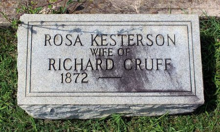 CRUFF, ROSA - Radford (City of) County, Virginia | ROSA CRUFF - Virginia Gravestone Photos