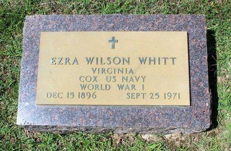WHITT, EZRA WILSON - Radford (City of) County, Virginia | EZRA WILSON WHITT - Virginia Gravestone Photos