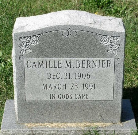BERNIER, CAMILLE M. - Richmond (City of) County, Virginia | CAMILLE M. BERNIER - Virginia Gravestone Photos