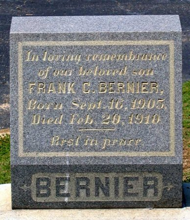 BERNIER, FRANK C. - Richmond (City of) County, Virginia | FRANK C. BERNIER - Virginia Gravestone Photos