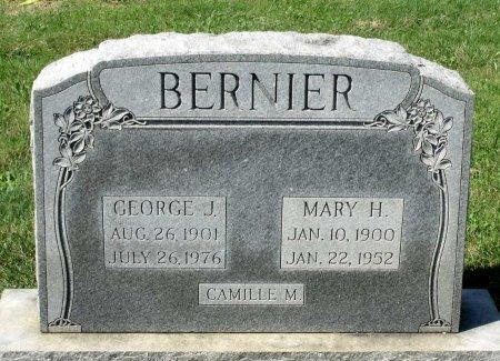BERNIER, MARY H. - Richmond (City of) County, Virginia | MARY H. BERNIER - Virginia Gravestone Photos
