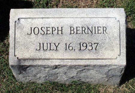 BERNIER, JOSEPH - Richmond (City of) County, Virginia | JOSEPH BERNIER - Virginia Gravestone Photos