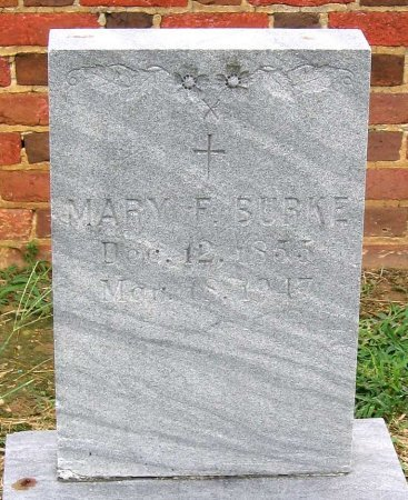 BURKE, MARY F. - Richmond (City of) County, Virginia | MARY F. BURKE - Virginia Gravestone Photos