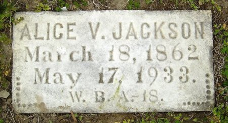 JACKSON, ALICE VIRGINIA - Richmond (City of) County, Virginia | ALICE VIRGINIA JACKSON - Virginia Gravestone Photos