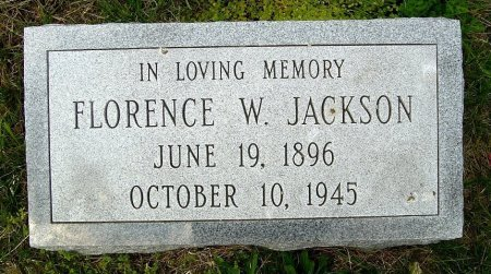JACKSON, FRANCES ELIZABETH - Richmond (City of) County, Virginia | FRANCES ELIZABETH JACKSON - Virginia Gravestone Photos