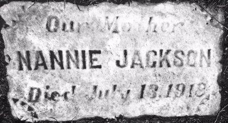 JACKSON, NANNIE - Richmond (City of) County, Virginia   NANNIE JACKSON - Virginia Gravestone Photos