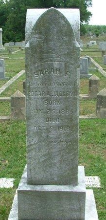 JACKSON, SARAH FRANCES - Richmond (City of) County, Virginia   SARAH FRANCES JACKSON - Virginia Gravestone Photos