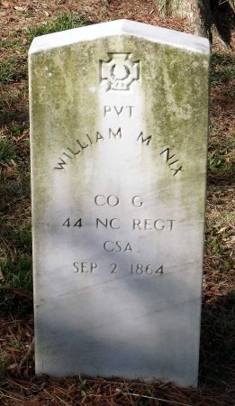 NIX, WILLIAM M. - Richmond (City of) County, Virginia   WILLIAM M. NIX - Virginia Gravestone Photos