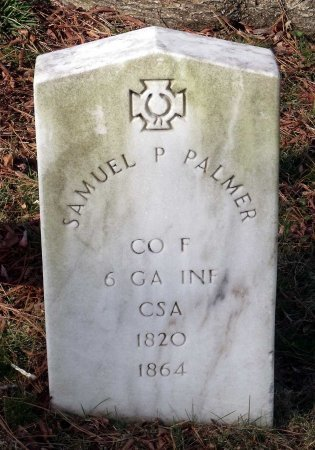 PALMER, SAMUEL P. - Richmond (City of) County, Virginia | SAMUEL P. PALMER - Virginia Gravestone Photos
