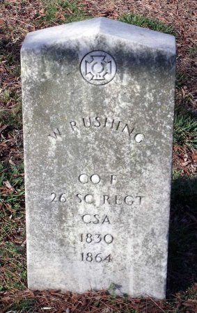 RUSHING, WILLIAM - Richmond (City of) County, Virginia | WILLIAM RUSHING - Virginia Gravestone Photos