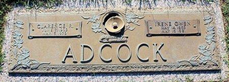 OWEN ADCOCK, IRENE - Roanoke (City of) County, Virginia | IRENE OWEN ADCOCK - Virginia Gravestone Photos