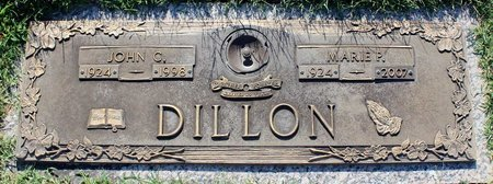 DILLON, JOHN C. - Roanoke (City of) County, Virginia | JOHN C. DILLON - Virginia Gravestone Photos