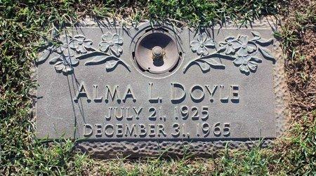DOYLE, ALMA L. - Roanoke (City of) County, Virginia | ALMA L. DOYLE - Virginia Gravestone Photos