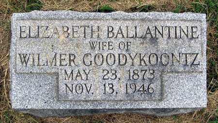 GOODYKOONTZ, ELIZABETH - Roanoke (City of) County, Virginia   ELIZABETH GOODYKOONTZ - Virginia Gravestone Photos
