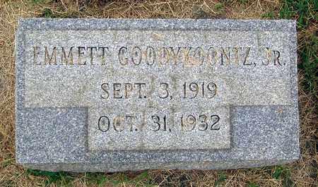 GOODYKOONTZ, EMMETT JR. - Roanoke (City of) County, Virginia | EMMETT JR. GOODYKOONTZ - Virginia Gravestone Photos