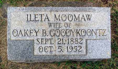 GOODYKOONTZ, ILETA - Roanoke (City of) County, Virginia | ILETA GOODYKOONTZ - Virginia Gravestone Photos
