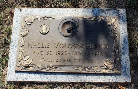 HELLER, HALLIE - Roanoke (City of) County, Virginia | HALLIE HELLER - Virginia Gravestone Photos
