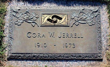 JERRELL, CORA W. - Roanoke (City of) County, Virginia | CORA W. JERRELL - Virginia Gravestone Photos