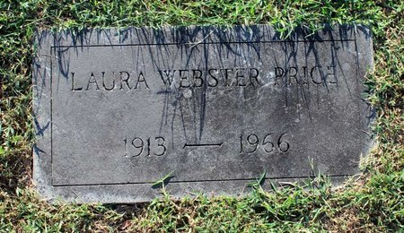 WEBSTER PRICE, LAURA - Roanoke (City of) County, Virginia | LAURA WEBSTER PRICE - Virginia Gravestone Photos