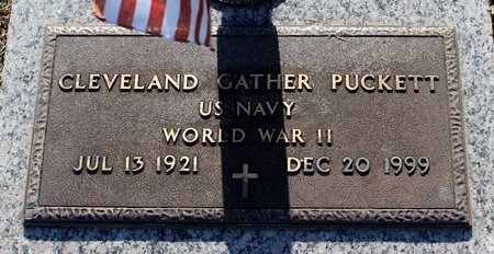 PUCKETT, CLEVELAND GATHER - Roanoke (City of) County, Virginia   CLEVELAND GATHER PUCKETT - Virginia Gravestone Photos