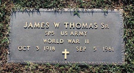 THOMAS, JAMES W. - Roanoke (City of) County, Virginia | JAMES W. THOMAS - Virginia Gravestone Photos