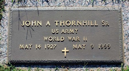 THORNHILL, JOHN A. - Roanoke (City of) County, Virginia | JOHN A. THORNHILL - Virginia Gravestone Photos