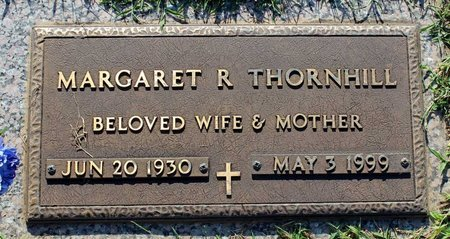 THORNHILL, MARGARET R. - Roanoke (City of) County, Virginia | MARGARET R. THORNHILL - Virginia Gravestone Photos