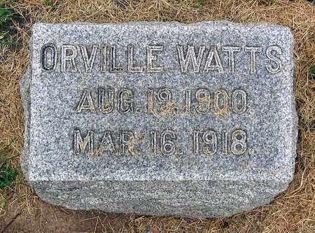 WATTS, ORVILLE - Roanoke (City of) County, Virginia | ORVILLE WATTS - Virginia Gravestone Photos